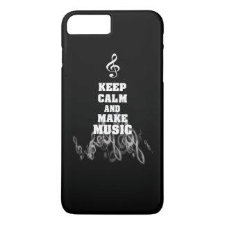 穏やか保ち、音楽を作って下さい iPhone 8 PLUS/7 PLUSケース