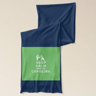 穏やか保ち、Capoeiraをして下さい スカーフ