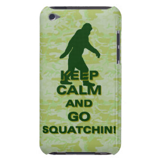 穏やか保ち、squatchin行って下さい Case-Mate iPod touch ケース