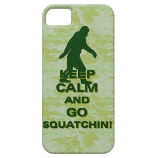 穏やか保ち、squatchin行って下さい iPhone SE/5/5s ケース