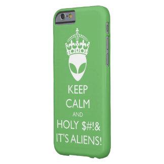 穏やか保てば神聖なS%#tそれはエイリアンです! Barely There iPhone 6 ケース
