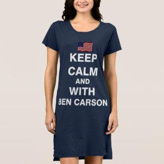穏やか、ベンカーソンと保って下さい ドレス