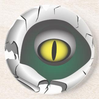 穴、壊れ目。モンスターの目 コースター