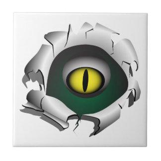 穴、壊れ目。モンスターの目 タイル