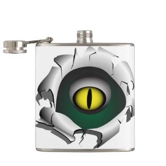 穴、壊れ目。モンスターの目 フラスク