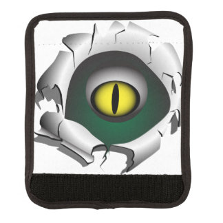 穴、壊れ目。モンスターの目 ラゲッジ ハンドルラップ