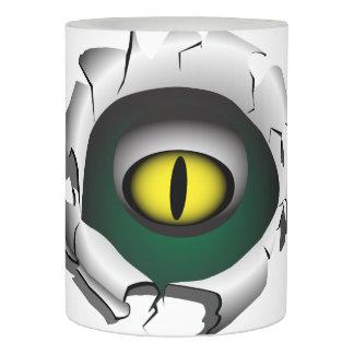 穴、壊れ目。モンスターの目 LEDキャンドル