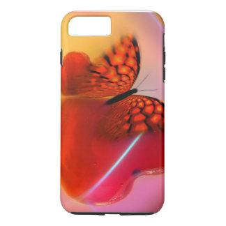 穹窖の堅いiPhone 7のプラスの場合か蝶 iPhone 8 Plus/7 Plusケース
