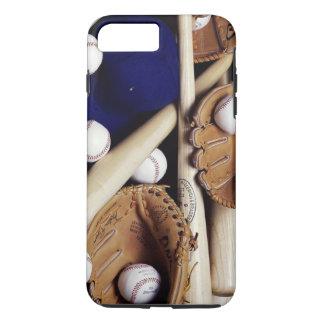 穹窖の堅いiPhone 7のプラスの場合か野球 iPhone 8 Plus/7 Plusケース