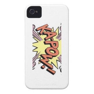 穹窖のiPhone 4のやっとそこにスーパーヒーロー Case-Mate iPhone 4 ケース