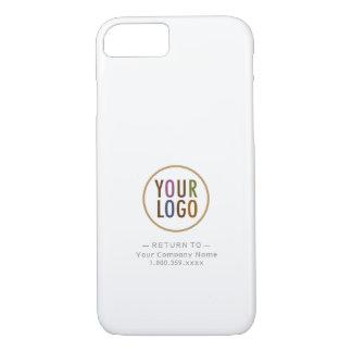 穹窖のiPhone 7の場合のカスタムなロゴ及び所有者情報 iPhone 8/7ケース