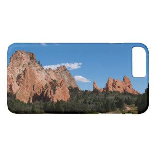 穹窖やっとそこにiPhoneと7個の赤い石 iPhone 8 Plus/7 Plusケース