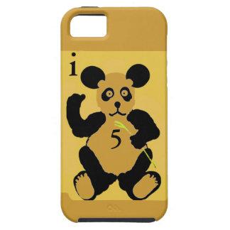 穹窖iphone5のVibeまたはbarely-thereの場合のパンダ iPhone SE/5/5s ケース