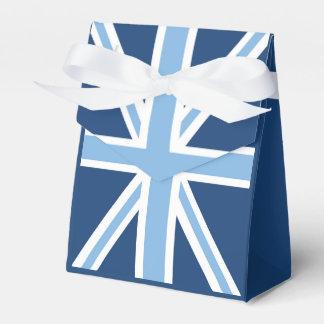 空および濃紺の英国国旗の旗 フェイバーボックス