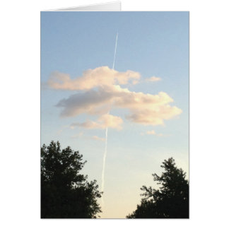 空でまっすぐに撃つこと カード