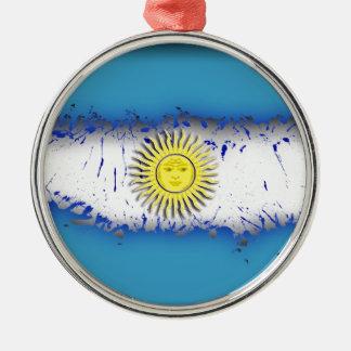 空にでは、アルゼンチン メタルオーナメント