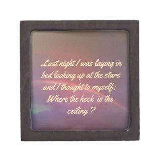 空によって満たされる虹に対するおもしろいでユーモアのあるな引用文 ギフトボックス