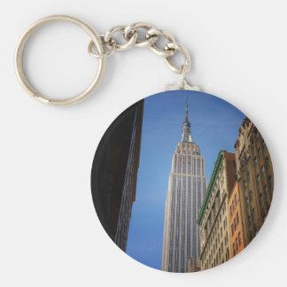 空に対するエンパイア・ステート・ビルディング、NYC キーホルダー