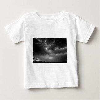 空のひび ベビーTシャツ