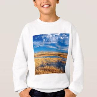 空のより低いKlamath湖の自然 スウェットシャツ