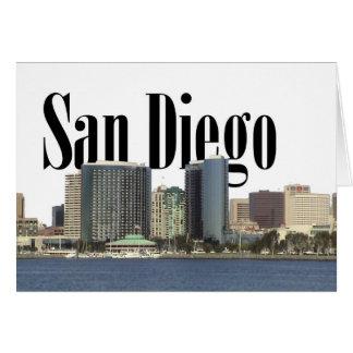 空のサンディエゴとのサンディエゴのスカイライン カード