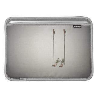 空のスキーおよびポーランド人 MacBook スリーブ