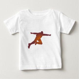 空のダイバーの砂漠 ベビーTシャツ