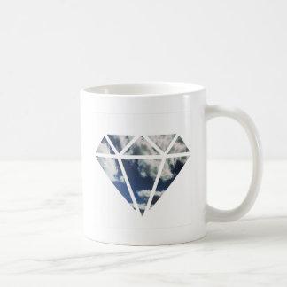 空のダイヤモンド コーヒーマグカップ