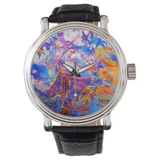 空のダンサーの腕時計 腕時計