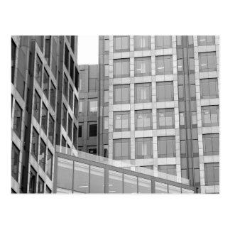 空のビットとの都市景色 ポストカード