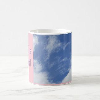 空の写真のマグ コーヒーマグカップ
