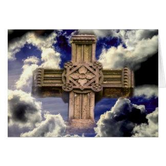 空の十字 グリーティングカード