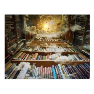 空の図書館 ポストカード