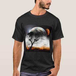 空の地球 Tシャツ