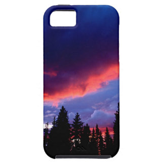 空の山のエバンズの荒野コロラド州 iPhone SE/5/5s ケース