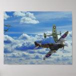 空の戦い ポスター