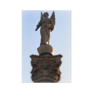 空の方へ天使 キャンバスプリント