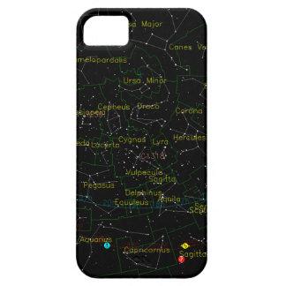 空の星座の地図 iPhone SE/5/5s ケース