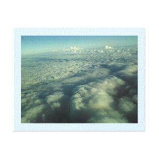 空の氷河 キャンバスプリント