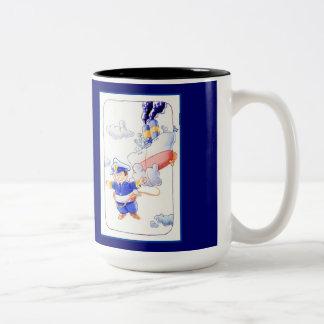 空の船 ツートーンマグカップ