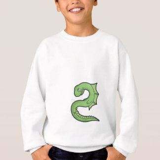 空の蛇 スウェットシャツ