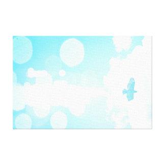 空の限界 キャンバスプリント