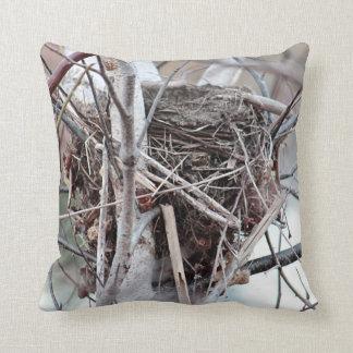 空の鳥の巣 クッション