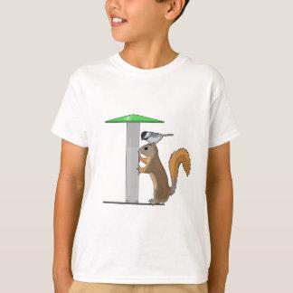 空の鳥の送り装置 Tシャツ