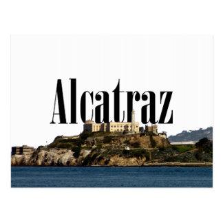 空のAlcatrazのAlcatrazの郵便はがき ポストカード