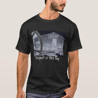 空のCatalina空港空港 Tシャツ