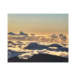 空は限界です キャンバスプリント