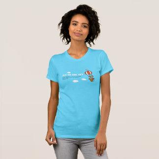 空へのはえ Tシャツ