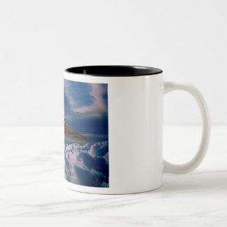 空へのVulcan ツートーンマグカップ
