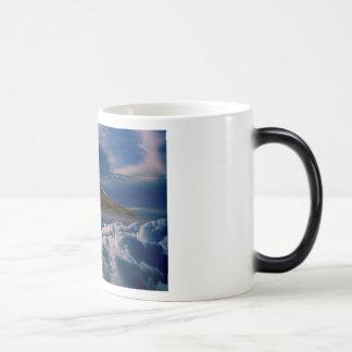 空へのVulcan モーフィングマグカップ